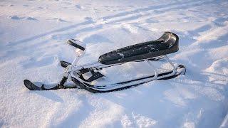 STIGA Snowracer King Size GT - test ride
