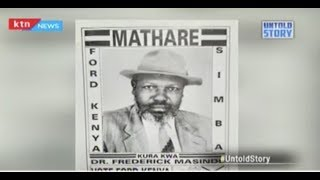 Dr Fredrick Masinde, the posthumous MP: He was declared MP when he was already dead  | UNTOLD STORY