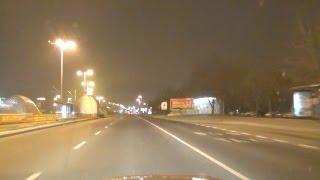 BMW M3 E92 - Night City Drive in Poland Polen Polska Acceleration Sound V8 Coupe