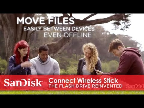 Video of Uses for SanDisk Connect Wireless Stick