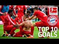 Top 10 Goals FC Bayern München 2018/19 - Lewandowski, James, Robben & More