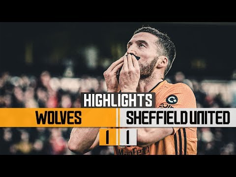 Doherty earns Wolves a point! Wolves 1-1 Sheffield United   Highlights