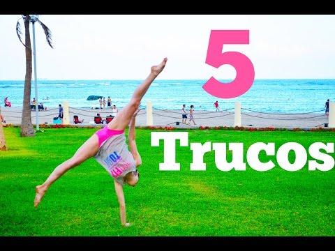 5 trucos Vuelta de carro con una mano / Perfecta de Pies a Cabeza