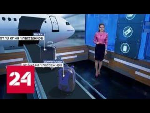 Сумка, рюкзак, ноутбук и зонтик: что теперь можно взять на борт - Россия 24