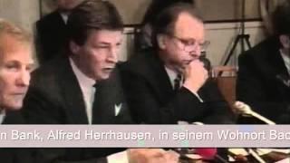 Alfred Herrhausen: Das nie aufgeklärte Attentat (1/3) (DEUTSCHLAND-FUNK) [Info 15.1]