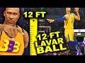 "12"" FOOT LAVAR BALL RARE THREE POINT DUNK.. NBA Slam Dunk Champion! | DominusIV"