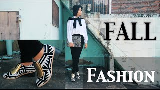 FAD: Fall Fashion Lookbook DEM SHOES THOUGH! 겨울 패션