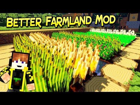 Better Farmland Mod | Mejora La Eficiencia De Tus Cultivos Minecraft 1.12.2 – 1.7.10| Review Español