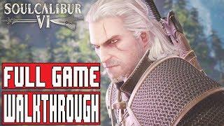 SOULCALIBUR 6 GERALT Story Mode Full Game Walkthrough