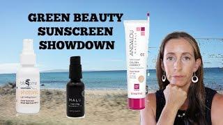 Green Beauty Sunscreen SHOWDOWN