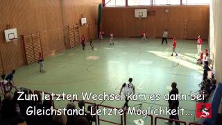 preview picture of video 'Highlights - BB Jugend DM Indoor Gauting 2013'
