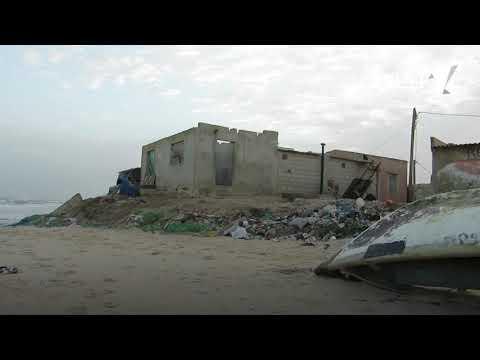 انجاكو.. مدينة يبتلعها البحر على غفوة (تقرير فيديو)