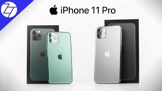 Apple iPhone 11 Pro & Apple iPhone 11 Pro Max - Unboxing, Camera Test & My Thoughts!