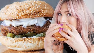 The best Vegan FRIED CHICKEN sandwich | Popeyes chicken sandwich Recipe