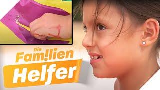 Mutwillige ZERSTÖRUNG: Susi (6) sticht auf Luftmatratzen ein! | Die Familienhelfer | SAT.1