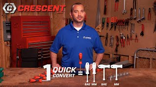 Crescent® Quick Convert Nut Drivers