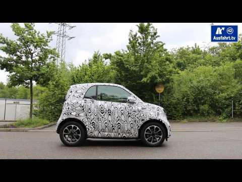 Der neue smart 2014 for two - Probefahrt - erste Informationen - Erlkönig