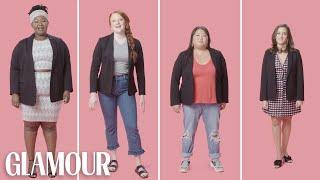 Women Sizes 0 to 28 Try On the Same Blazer   Glamour
