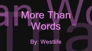 more than words westlife mp3 download musicpleer - TH-Clip