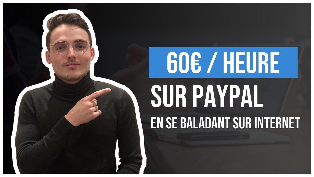 6:29 En cours de lecture À regarder plus tard Ajouter à la file d'attente 60€ / Heure Sur Paypal En Se Baladant sur Internet (Gagner De L'Argent En Ligne)