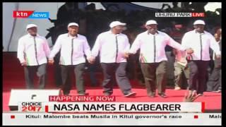 NASA Principals in show of unity at Uhuru Park