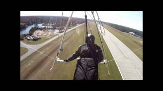 preview picture of video 'First flight in new sport2 and Z5 harness'