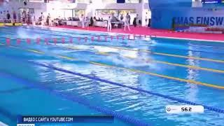 Орские спортсмены в составе сборной России  принимают участие в чемпионате мира по плаванию в ластах