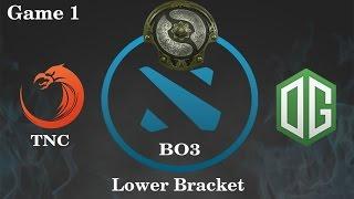 TNC vs OG Highlights Game 1, TI 6 Main Event Lower Bracket