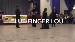 Blue Finger Lou Linedance demo   Renegade Ranch 2000