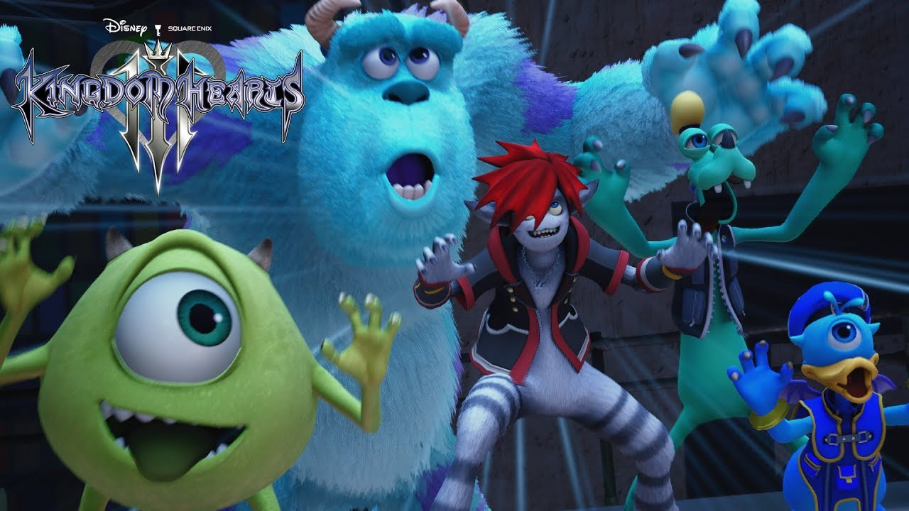 Video KINGDOM HEARTS III [PS4]