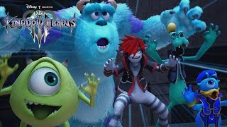 KINGDOM HEARTS III – D23 Expo Japan 2018 Monsters, Inc. Trailer [multi-language subs] - dooclip.me