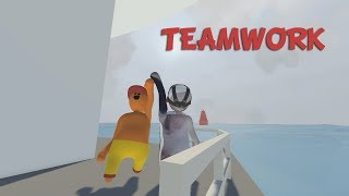 TEAM WORK - Human: Fall Flat (Funny Moments)