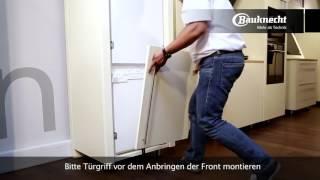 Bauknecht Kühlschrank mit Festtürmontage SetmoPlus | Erhältlich bei moebelplus