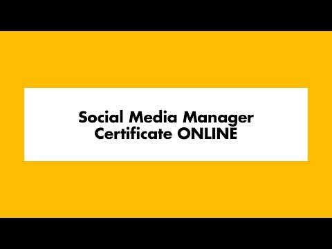 Social Media Manager Certificate Online   UWM School of ...