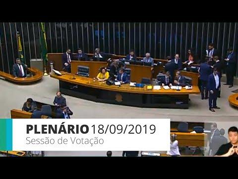 Plenário - PL 5029/2019 - modifica lei dos partidos e regras eleitorais - 18/09/2019 - 16:00