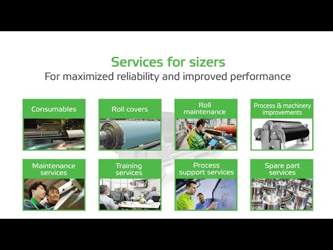 Sizer consumables