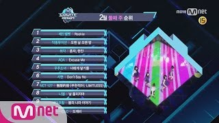 What are the TOP10 Songs in 2nd week of February? M COUNTDOWN 170209 EP.510