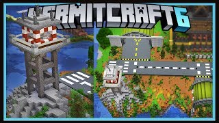 Hermitcraft Season 6: New ConCorp Shop, Hermit Air Port!   (Minecraft 1.13.2 survival  Ep.35)