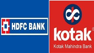 Bank's Growth in Quarter 1 - HDFC & Kotak Mahindra Bank