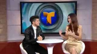 "TonyG interviewed on Telemundo's "" Acceso Total "" with Adriana Lopez"