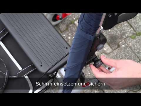 Paraplu voor rollator - paraplui pour rollator - www.mobio.be