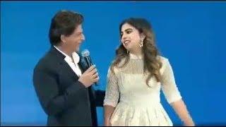 हिंदुस्तान के सबसे अमीर आदमी की बेटी Isha Ambani के साथ Shahrukh Khan ने की खूब मस्ती