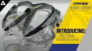 Маска для дайвинга Cressi Eyes Evolution Crystal прозрачный силикон от компании МагазинCalipso dive shop - видео