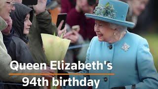 Britain's Queen Elizabeth turns 94