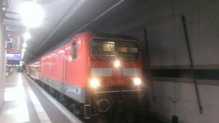 preview picture of video 'Dresden S Bahn S2 Dresden Flughafen to Dresden Neustadt'