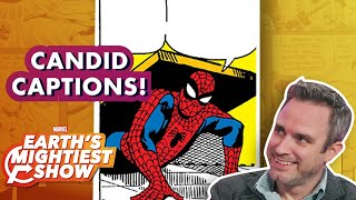 Amazing Spider-Man writer Nick Spencer Captions Comics   Earth's Mightiest Show