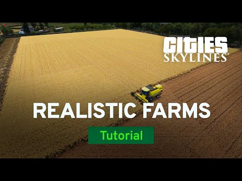 Creating Realistic Farms with PugGaming | Modded Tutorial | Cities: Skylines