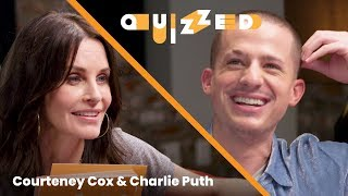 Charlie Puth Gets QUIZZED by Courteney Cox on 'Friends' | Billboard