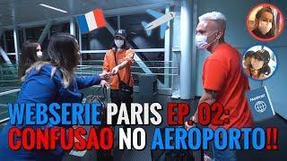 MAZZAFERA EM PARIS!! - EP 02 CONFUSÃO NO AEROPORTO/AVIÃO + CASA IZABEL GOULART!   #MatheusMazzafera
