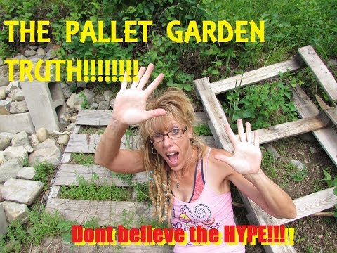 ORGANIC GARDENING: A DIY TIP FOR GARDENERS USING PALLETS!!